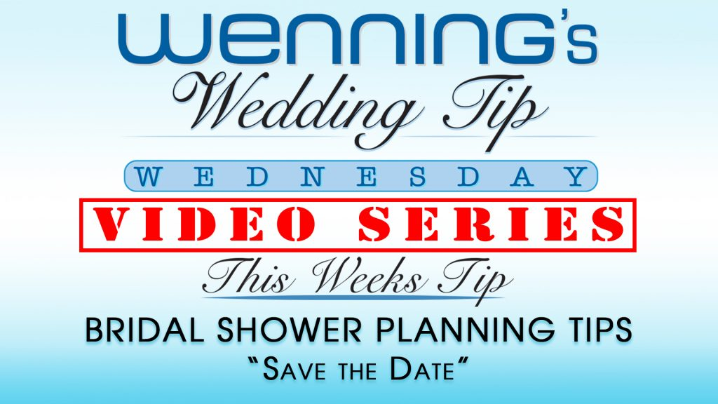 "WWTW | Bridal Shower Planning Tips | ""Save the Date"""