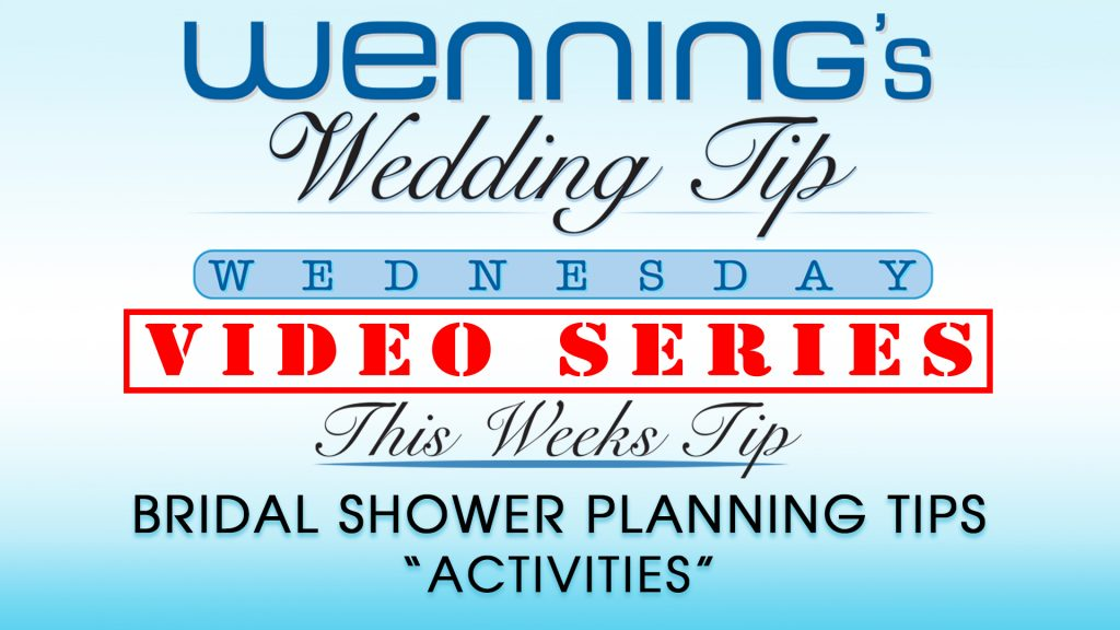 "WWTW | Bridal Shower Planning Tips | ""Activities"""