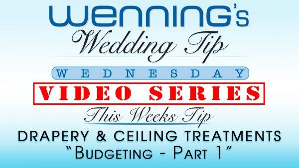 WWTW | Drapery & Ceiling Treatments | Budgeting : Part 1