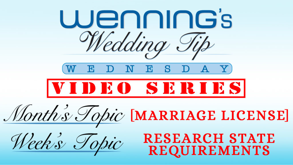 WWTW | Marriage License | Research Requirements