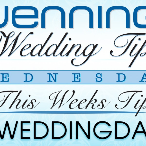 Wenning's Wedding Tips