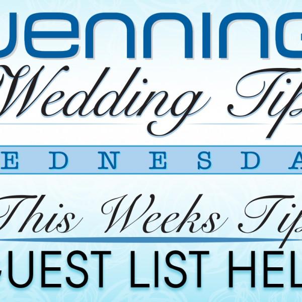 Guest List Help