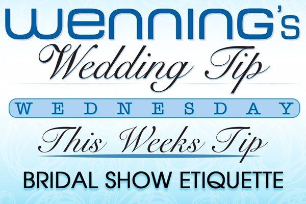 bridal show etiquette