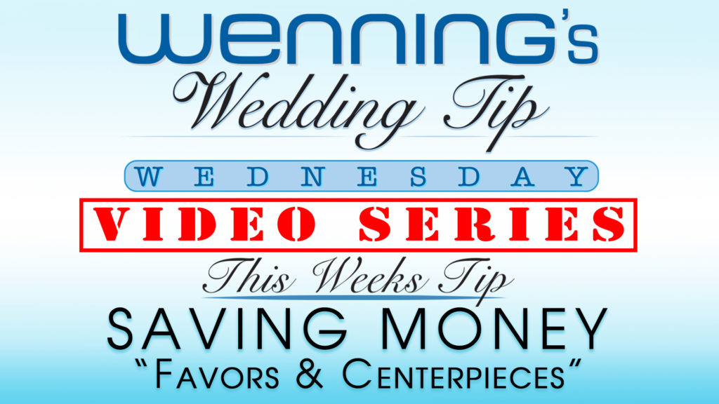WWTW | Saving Money | Favors & Centerpieces