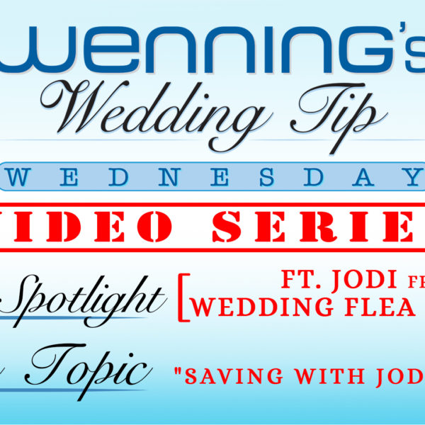 Saving with Jodi | Wedding Tips