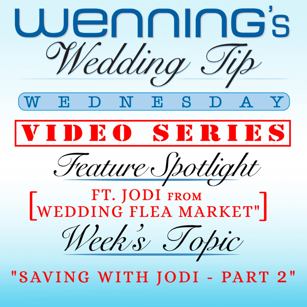 Saving with Jodi - Part 2 | Wedding Tips