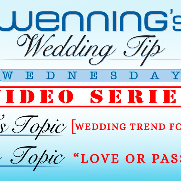 Wedding Trend Forecasting - Part 3