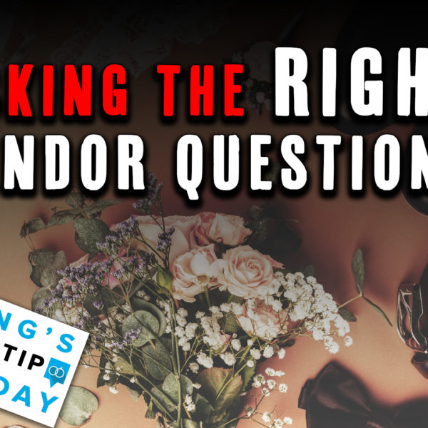 Asking the right vendor questions