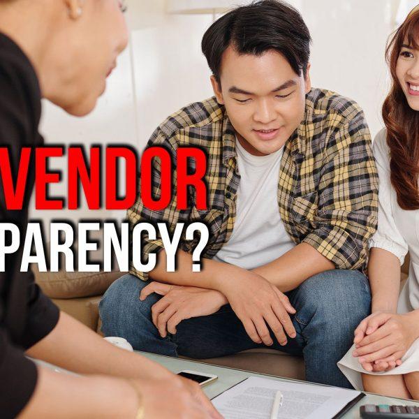 Wedding Vendor Transparency