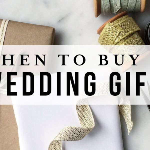 Buying a wedding gift