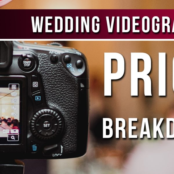wedding videographer prices
