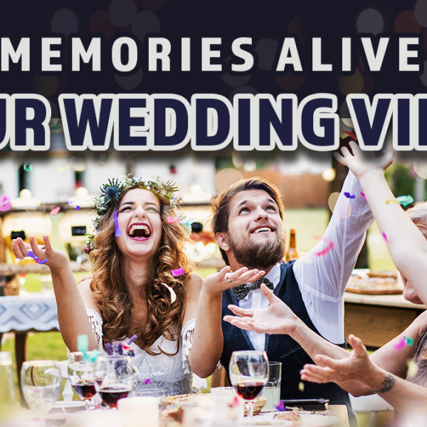 keep memories alive with your wedding video